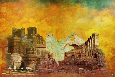 Ancient City Of Nesseba Art Print