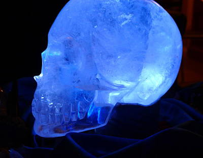 Photograph - Ancient Crystal Skull by Denise Mazzocco
