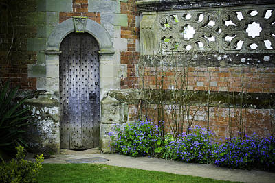 Ancient Door Art Print by Lesley Rigg