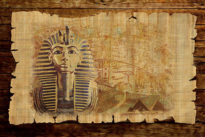 Abu Simbel Painting - Ancient Egypt Civilization 02 by Catf