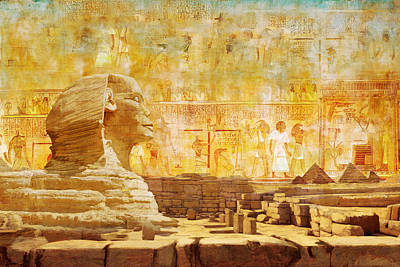 Ancient Egypt Civilization 08 Art Print