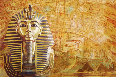 Ancient Egypt Civilization Detail 02 Art Print