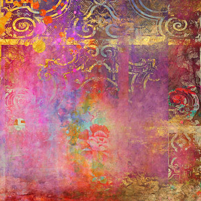 Painting - Ancient Future - Boho Rose by Aimee Stewart