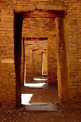 Chaco Canyon Photograph - Ancient Galleries by Joe Kozlowski