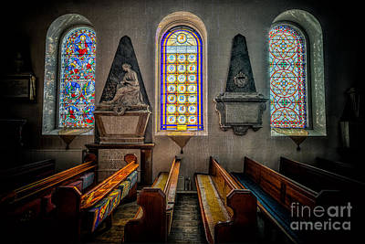 Aisle Photograph - Ancient Glass by Adrian Evans
