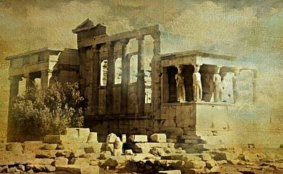 Ancient Greece Art Print by Diana Angstadt