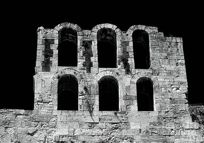 Greek School Of Art Photograph - Ancient Greek Ruins by John Rizzuto