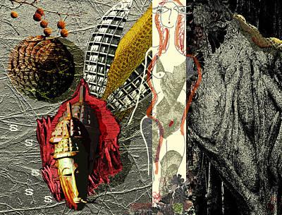 Ancient History Art Print by Maria Jesus Hernandez