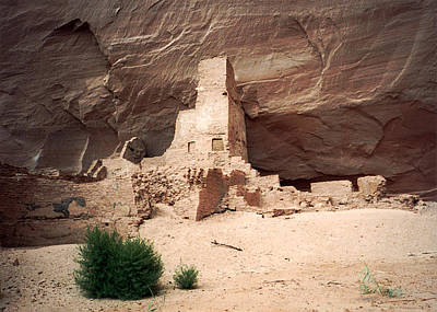 Photograph - Ancient Homes In Canyon De Chelly 1993 by Connie Fox
