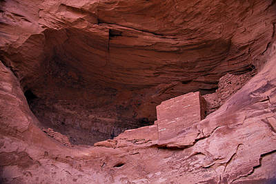 Anasazi Photograph - Ancient Indian Dwellings   by Garry Gay