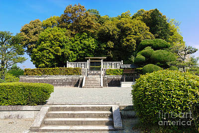 Photograph - Ancient Japanese Imperial Mausoleum by David Hill