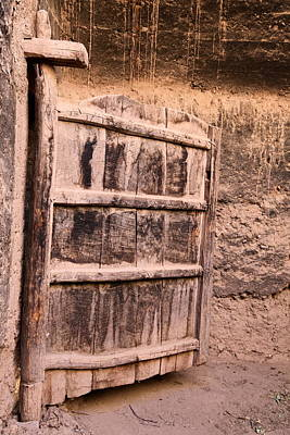 Photograph - Ancient Kasbah Door by Sophie Vigneault