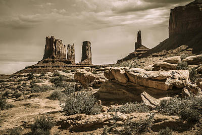 Monument Valley Wall Art - Photograph - Ancient Lands by Medicine Tree Studios
