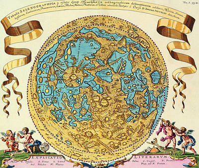 Ancient Map Of The World Art Print by Gianfranco Weiss