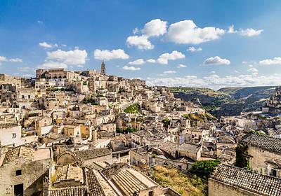 Basilicata Photograph - Ancient Matera by JR Photography