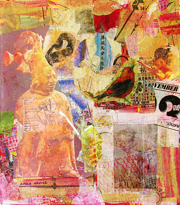 Mixed Media - Ancient Memories by Linda Novick