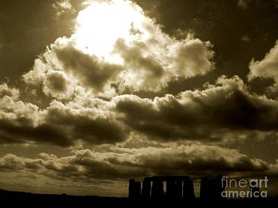 Print featuring the photograph Ancient Mystery by Vicki Spindler