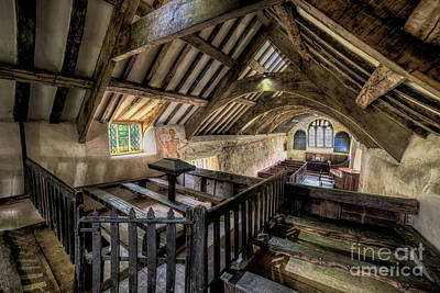 Crosses Photograph - Ancient Pagan Chapel by Adrian Evans