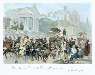 Clarence Painting - Ancient Rome Appian Way by Granger