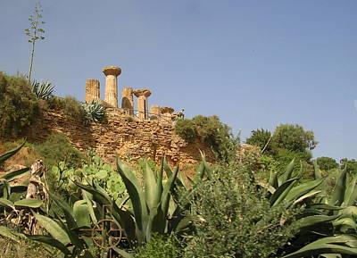 Photograph - Ancient Ruins 2 by Caroline Stella
