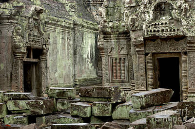 Photograph - Ancient Ruins Cambodia by Bob Christopher