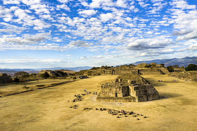Photograph - Ancient Ruins Of A Zapotec Temple by Mark E Tisdale