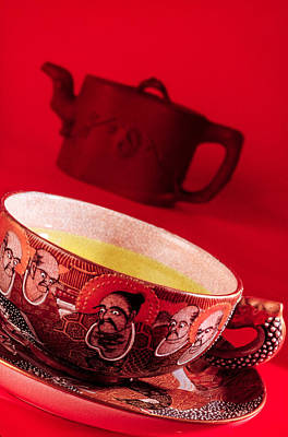 Photograph - Ancient Satsuma Tea Cup by Matthew Pace