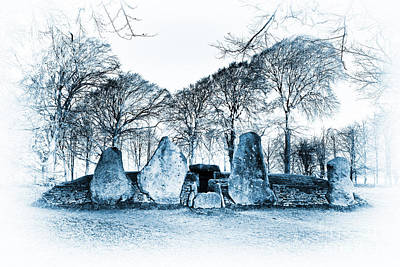 Neolithic Photograph - Ancient Smithy by Tim Gainey