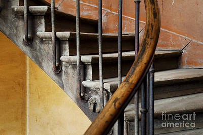 Ancient Staircase Art Print by Brian Jannsen
