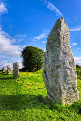 Photograph - Ancient Standing Stones Of Wiltshire - Avebury by Mark E Tisdale