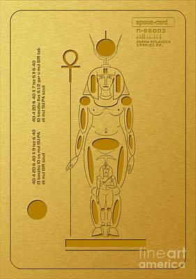 Digital Art - Ancient Symbols by Alexa Szlavics