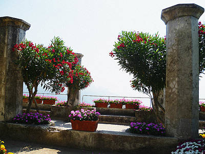 Dry Brush Wall Art - Photograph - Ancient Town Of Ravello Italy by Irina Sztukowski