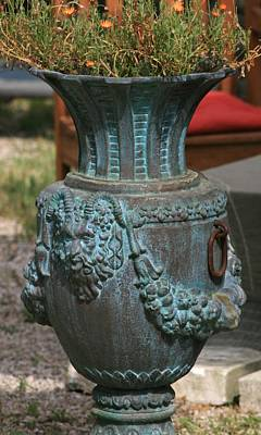 Photograph - Ancient Vase  by Phoenix De Vries