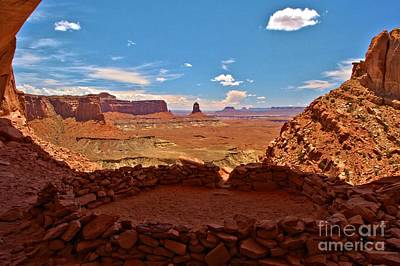 Ancient Viewpoint Art Print by Adam Jewell