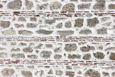 Ancient Wall Background Art Print