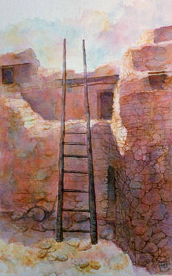 Ancient Walls Art Print
