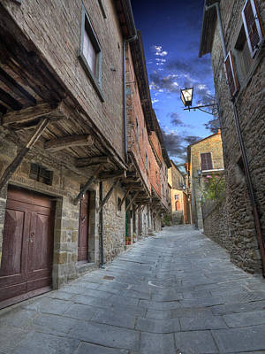 Photograph - Ancient Way Cortona Tuscany by Al Hurley