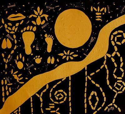 Ancient Worship Tribal Art Original