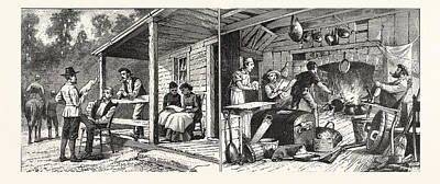 Tennessee Drawing - And About Rugbythe English Colony Tennessee by American School