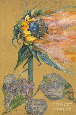 And Juliet Is The Sun Art Print by Kate Bedell