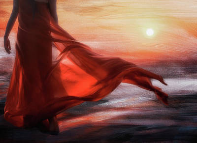 And The Sun Will Make For Your Way... Art Print
