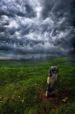 Grave Photograph - And Then There Was Gloom by Phil Koch