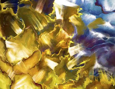 Epiphany Painting - And There Was Light by Melissa Herrin