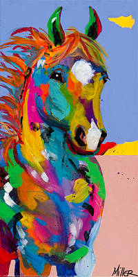 And They Called The Wind Mariah Print by Tracy Miller