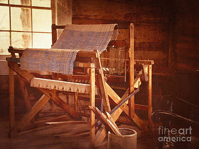 Photograph - And Weave These Threads Vintage by Lee Craig