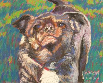 And Your Little Dog Too Art Print by Katrina West