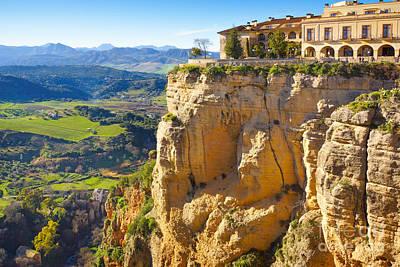 Andalucia Photograph - Andalucia Ronda by Lutz Baar
