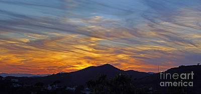 Photograph - Andalucia Sunset Panorama by Rod Jones