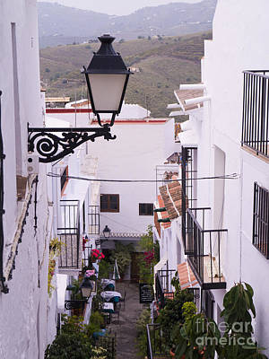 Photograph - Andalucian White Village by Brenda Kean