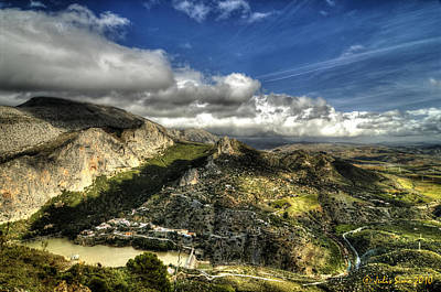 Art Print featuring the photograph Andalusia - Mountain View by Julis Simo